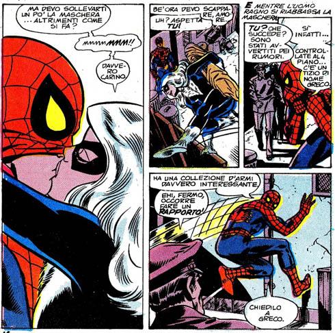 Nero vedova Spiderman sesso