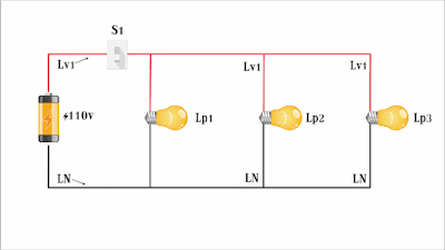 connection of a circuit in parallel