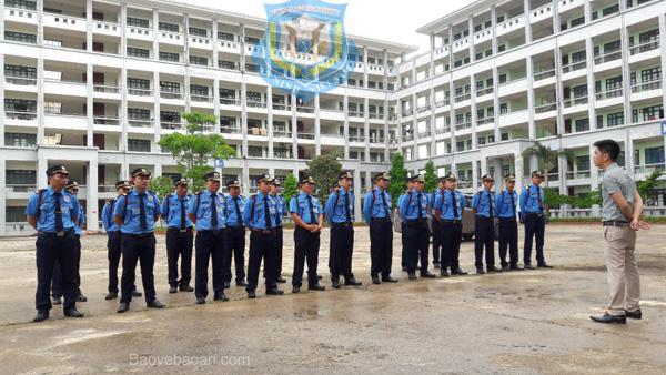 Triển khai bảo vệ mục tiêu Shinwon Thái Nguyên