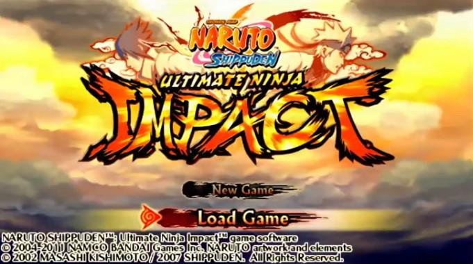 Cara Setting Naruto Ultimate Ninja Impact Ppsspp