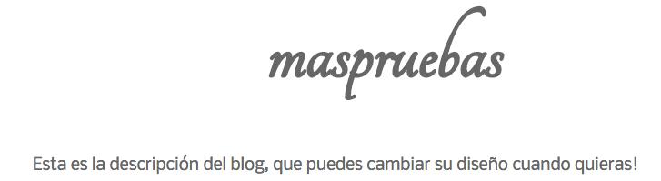 personalizar tipografia descripcion