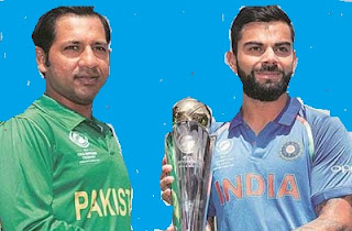 India vs Pakistan Final Live Score ICC Champions Trophy 2017: India in trouble, Five wicket down for 54