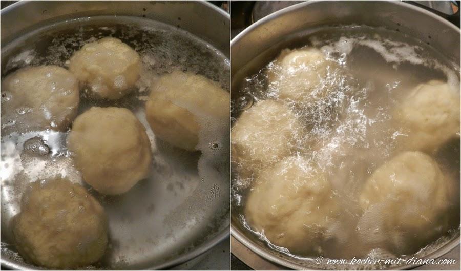 Zwetschgenknödel kochen