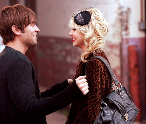Chace Crawford With His Girlfriend Taylor Momsen New ...
