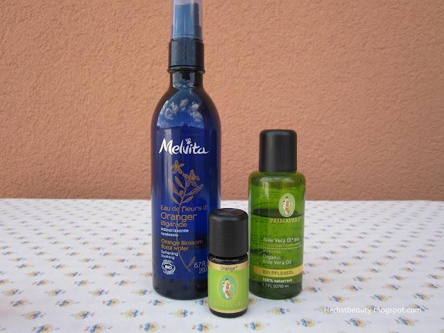 DIY Bodylotion Aloe Vera und Orangenblütenwasser