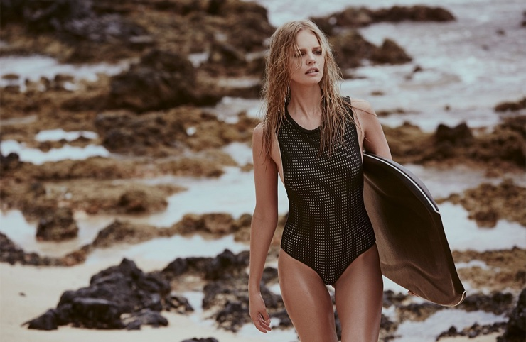 ACACIA Swimwear 2017 featuring Marloes Horst