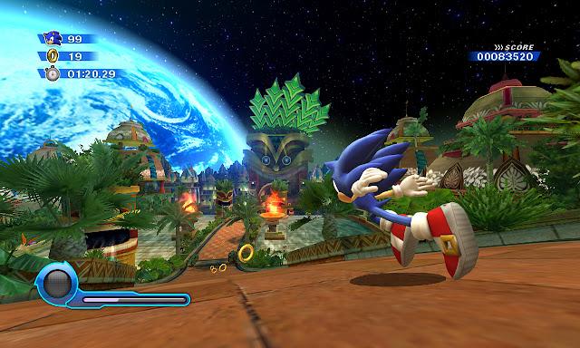 Sonic Colors screenshot 1