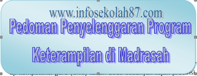Download Pedoman Penyelenggaraan Program Keterampilan di Madrasah Aliyah