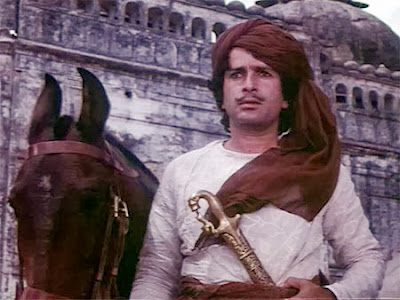 Shashi Kapoor as Javed Khan in Junoon, Directed by Shyam Benegal
