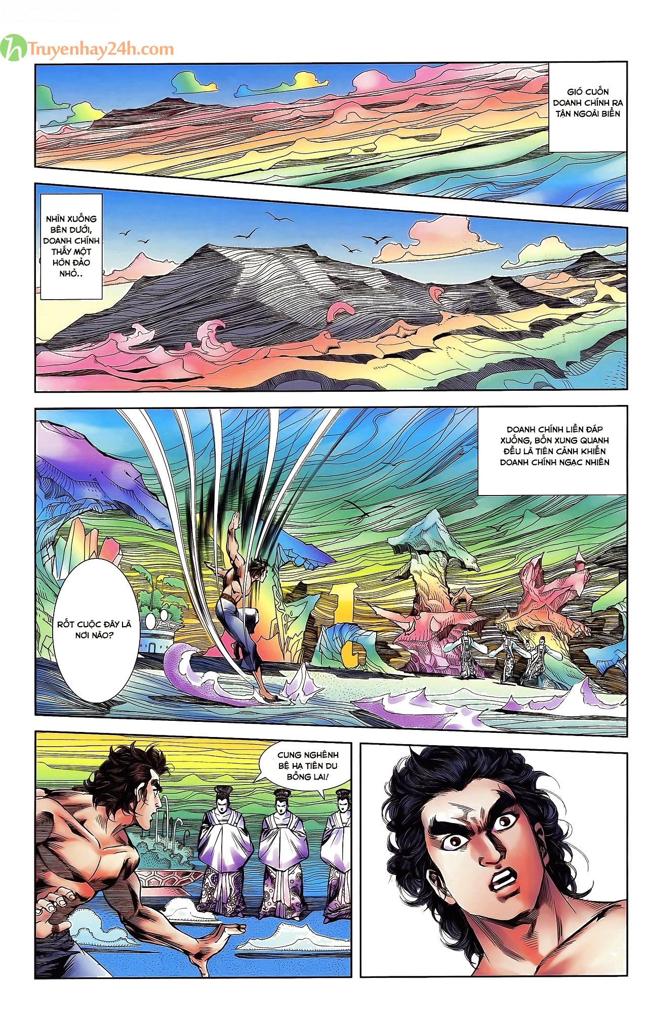 Tần Vương Doanh Chính chapter 30 trang 21