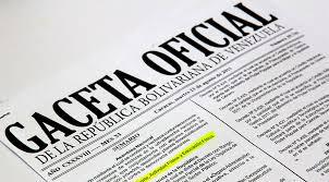 Gaceta Oficial Nº 41.623: Horario especial laboral a partir del 01 de mayo hasta el periodo que acuerde el Ejecutivo Nacional de 2019
