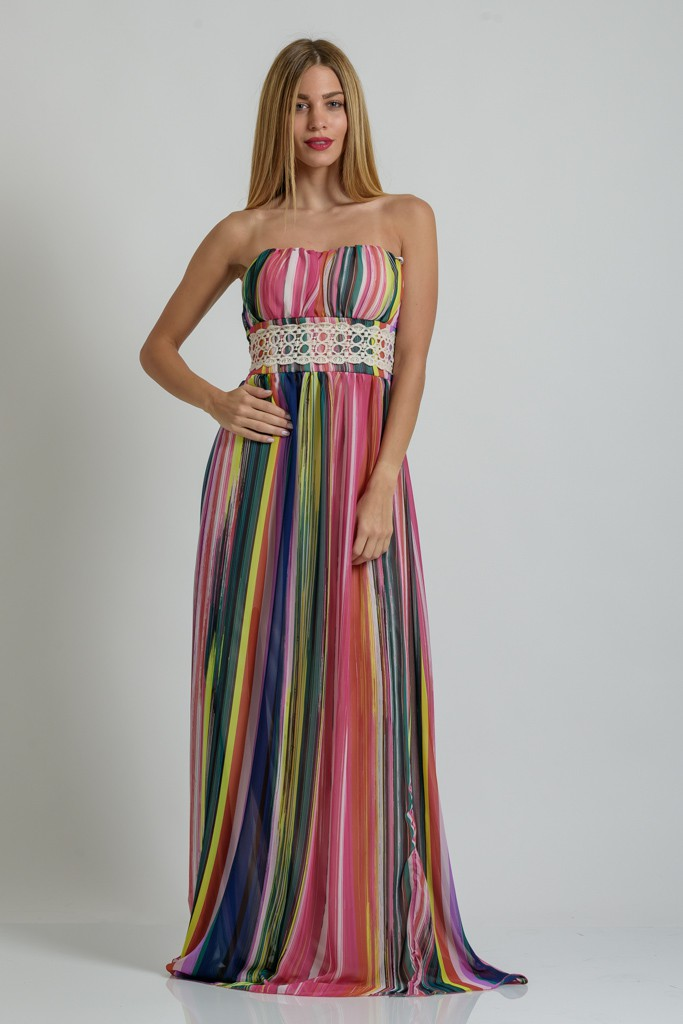 bdbc24cb6e23 Γυναικεία μόδα by Primadonna   5 Maxi καλοκαιρινά φορέματα γάμου για ...