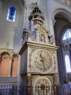 reloj astronomico catedral lyon
