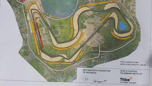 Sirkuit MotoGP Jakabaring Masterplan