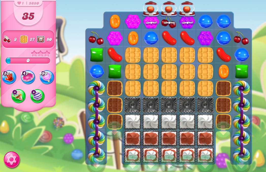 Candy Crush Saga level 5880