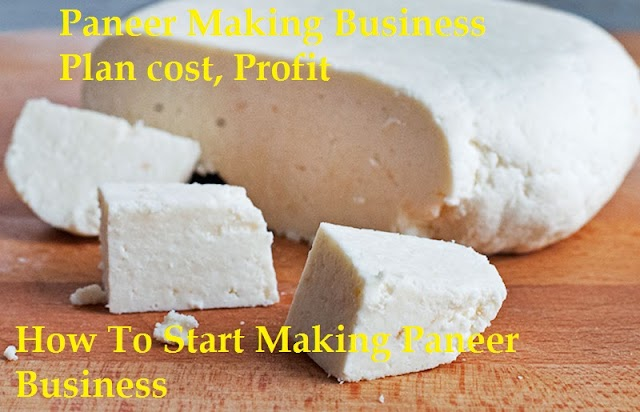 How To Start Making Paneer Business? Paneer Making Business Plan cost, Profit