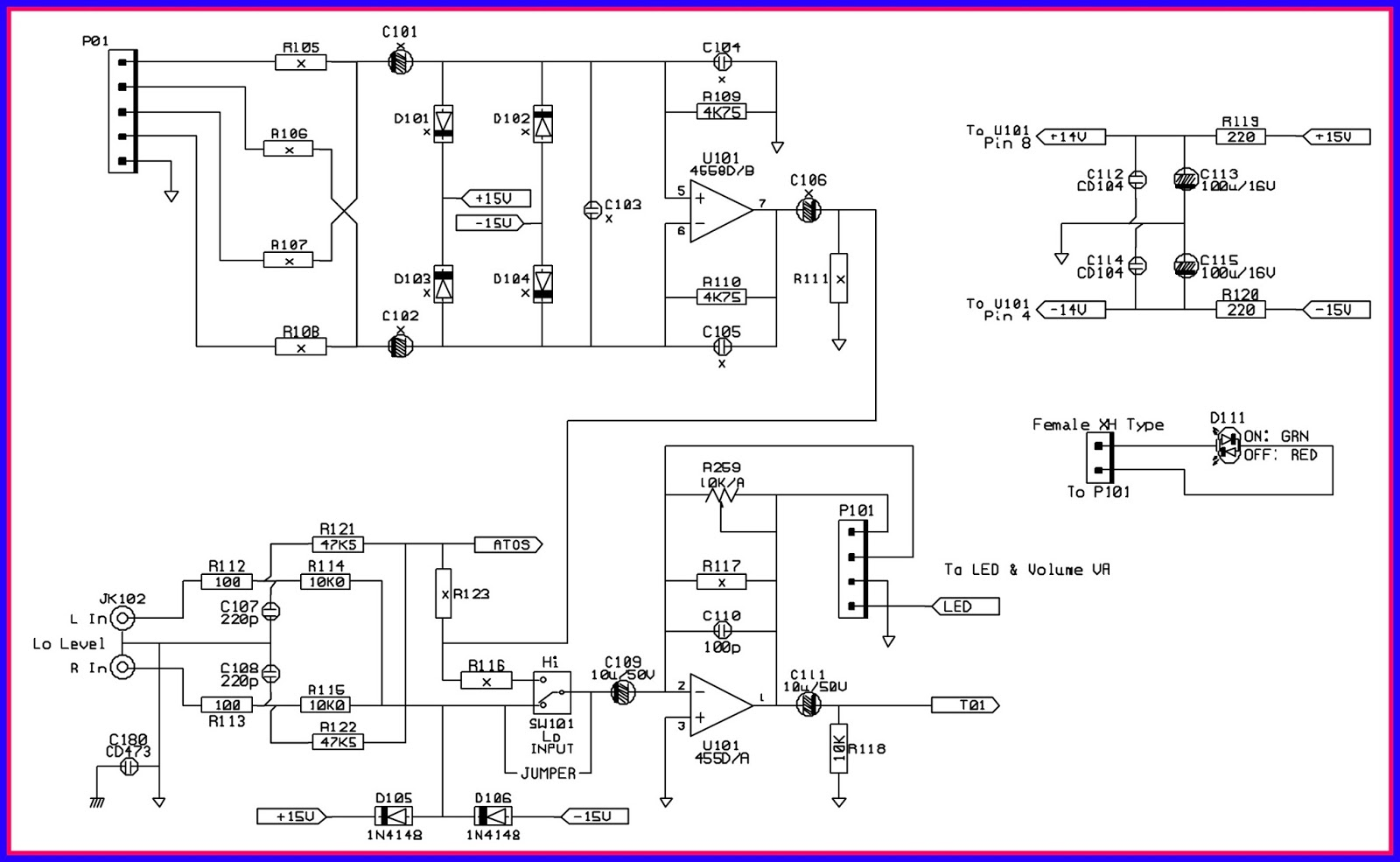 small resolution of sub woofer circuit woofer circuit diagram active crossover circuit active bandpass filter circuit active noise cancellation