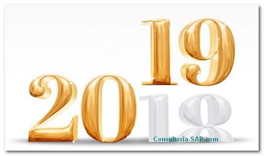 Adiós 2018, HOLA 2019 !! - Consultoria-SAP