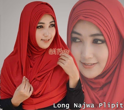 Grosir Jilbab Long Najwa Lipit