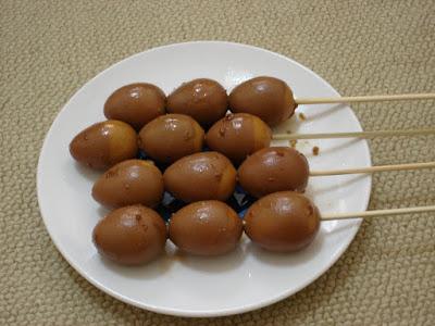 healthycookinghub.com - Quail Egg Satay Recipe