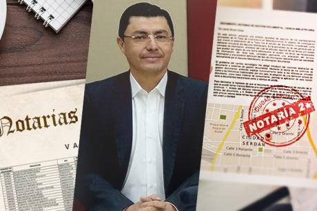 Suspenden a director de Archivos y Notarias