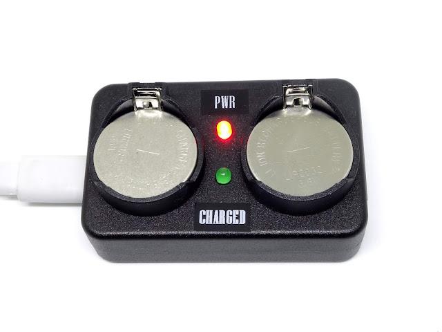 DIY Dual LIR2032 charger