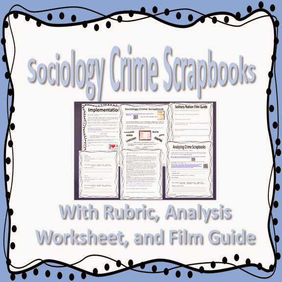 Sociology Crime Scapbooks