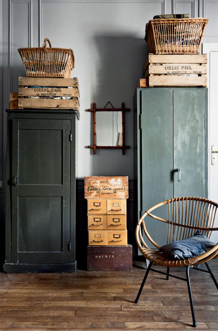 Appartamento d epoca in stile vintage a parigi blog di for Stile vintage arredamento