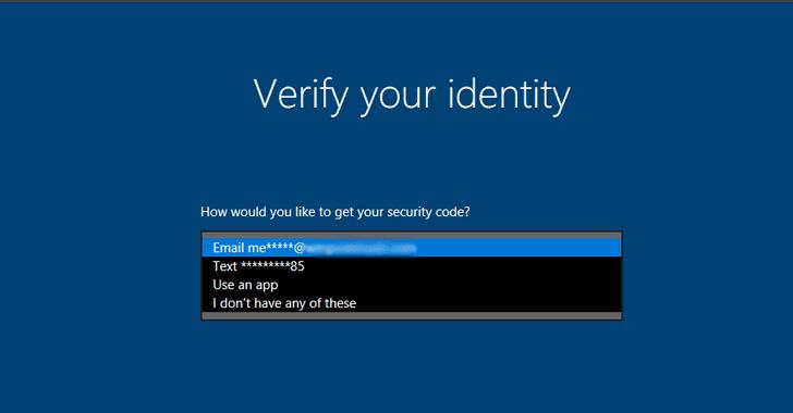 Windows 10 Will Now Let You Reset Forgotten Password ...