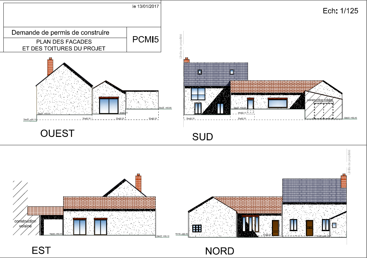 r novation d 39 une grange 2 le permis de construire caract rielle. Black Bedroom Furniture Sets. Home Design Ideas