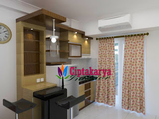 kitchen-set-apartemen-oak-tower