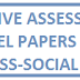 SA-1 10TH CLASS SOCIAL MODEL PAPERS