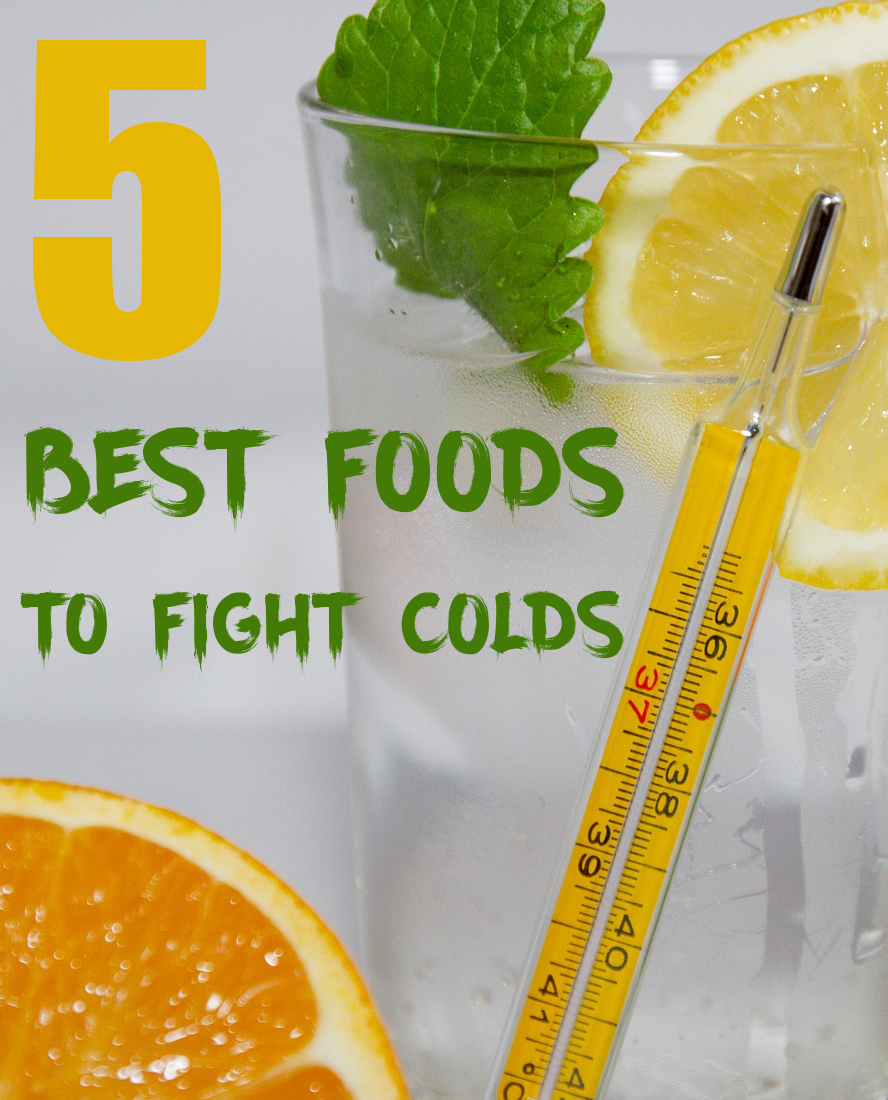 5 Best Foods to Fight Colds
