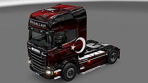 Turkey paint job for Scania SCS Streamline