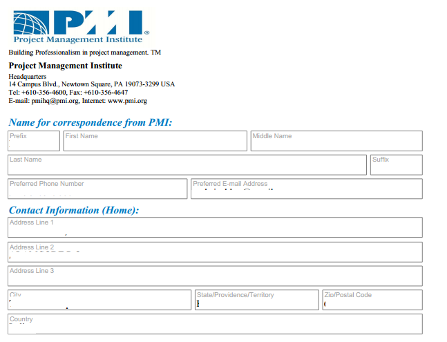 iCert Global: Filling the PMP® Application Form