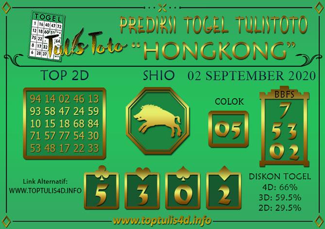 Prediksi Togel HONGKONG TULISTOTO 02 SEPTEMBER 2020