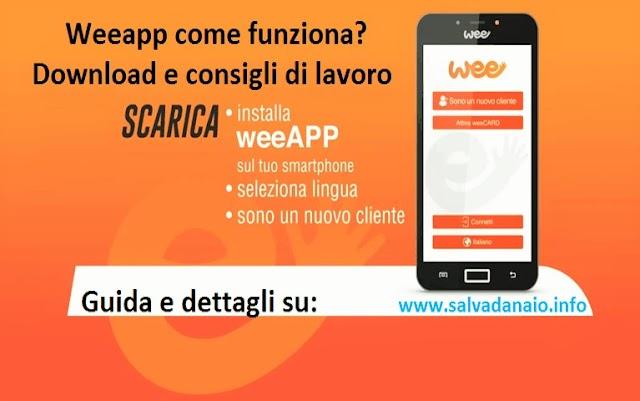 Weeapp come funziona? Download e consigli di lavoro