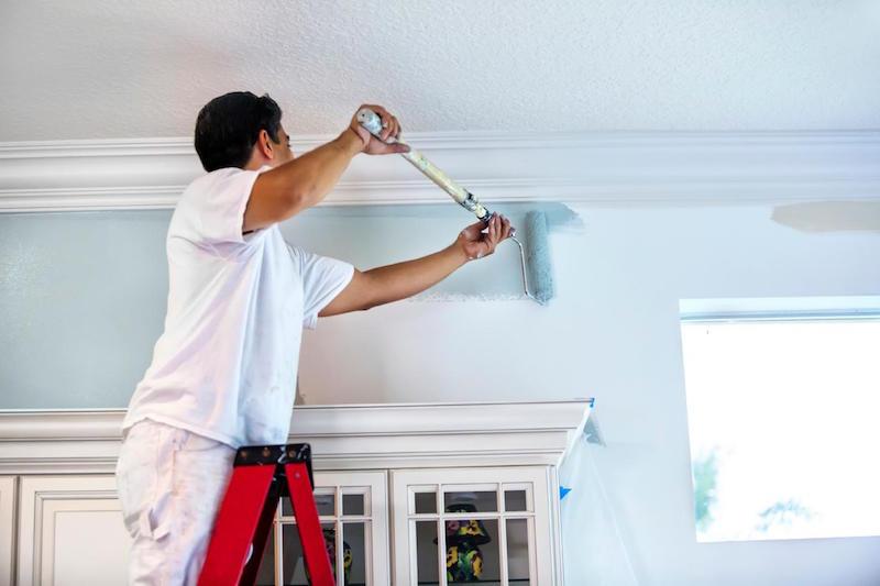 Kết quả hình ảnh cho thợ sơn nhà