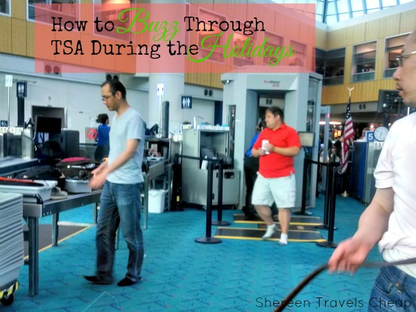 How to Buzz Through TSA During the Holidays