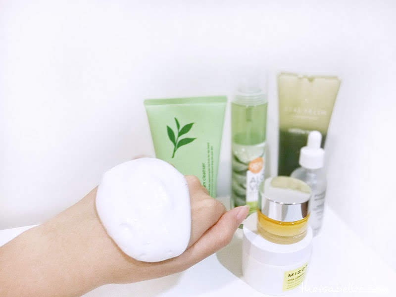Innisfree Green Tea Foam Cleanser foam