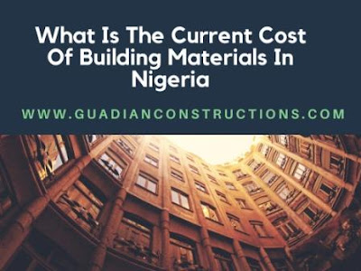what is the current price of building materials in Nigeria
