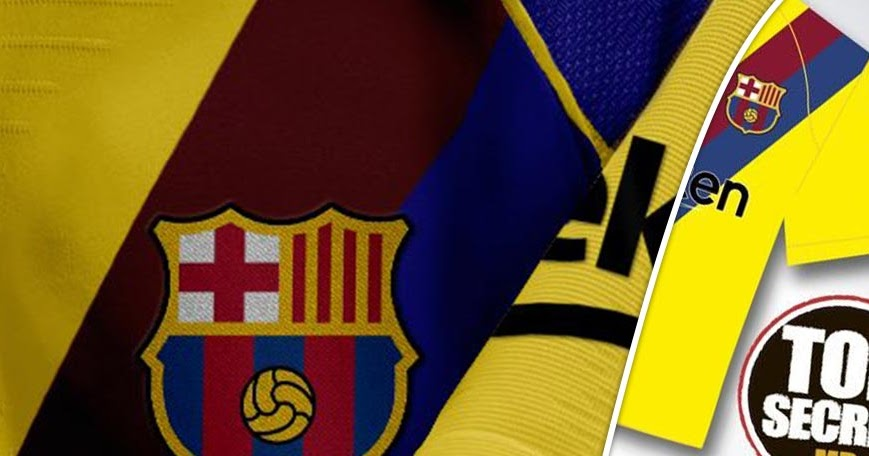 Barcelona 19 20 Away Kit Concept Revealed Footy Headlines