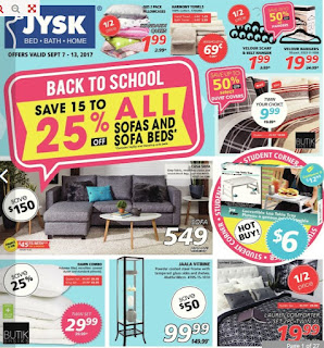 JYSK Weekly Flyer Thu Sep 7 – Wed Sep 13