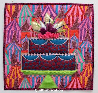 CAKE QUILT-CHALLENGE QUILT-KAFFE FASSETT