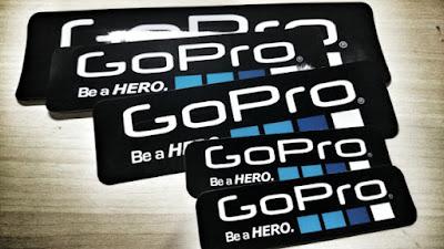 kami akan memberikan tutorial cara untuk mendapatkan stiker GoPro dan MasterCard secara gratis