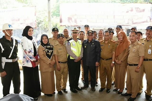 Walikota Dukung Razia Gabungan Samsat Cinere