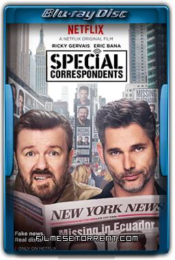 Special Correspondents Torrent 2016 720p e 1080p WEB-DL Dual Áudio