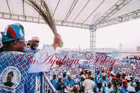 Mother of All Defection: When Alao Akala, Folarin Others Join APC From PDP Yesterday In Oyo