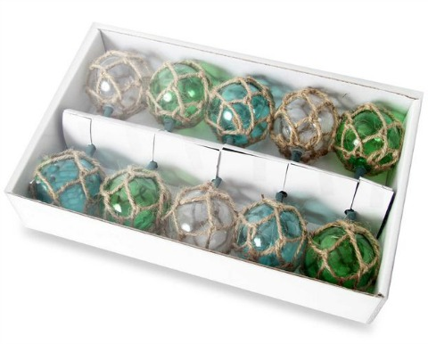 Glass Float String Lights