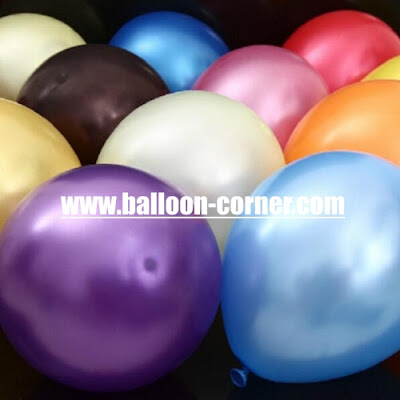 Balon Latex Metalik 12 Inchi Kualitas Super